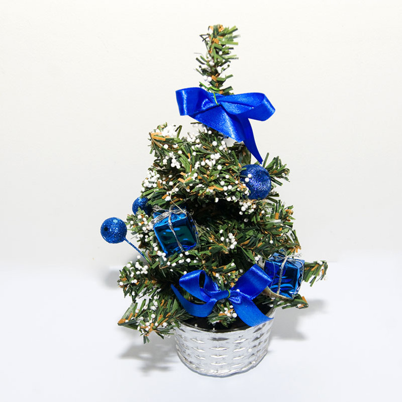 20cm mini merry christmas trees artificial plastic small christmas ornaments decorations table tree for home in trees from home garden on aliexpresscom - Small Christmas Ornaments