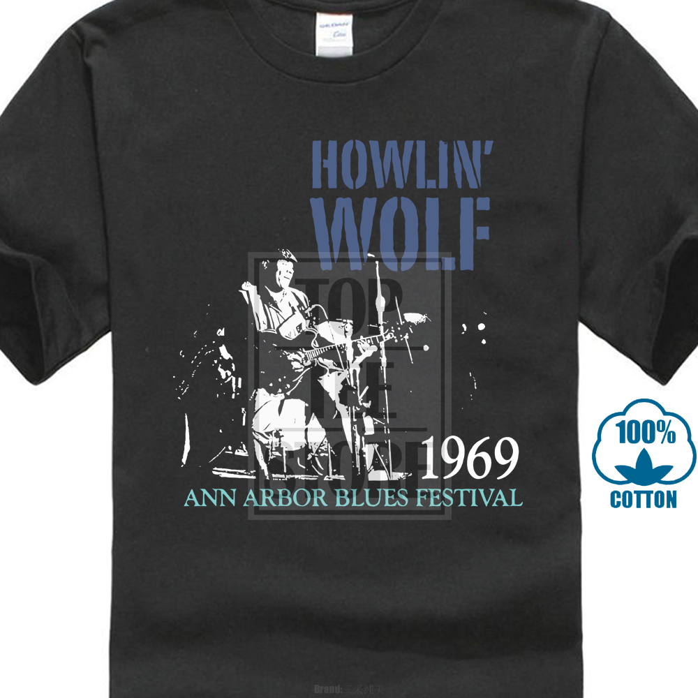 145b31f3c9d US $7.03 12% OFF|Howlin Wolf Blues Festival 1969 T Shirt M L Xl 2Xl Brand  New Official-in T-Shirts from Men's Clothing on Aliexpress.com | Alibaba ...