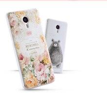 Горячий Новый Meizu M3 Note Case Роскошные 3D Мягкие Силиконовые Милосердия Case Задняя Крышка Телефон Case Для Meizu M3 Note