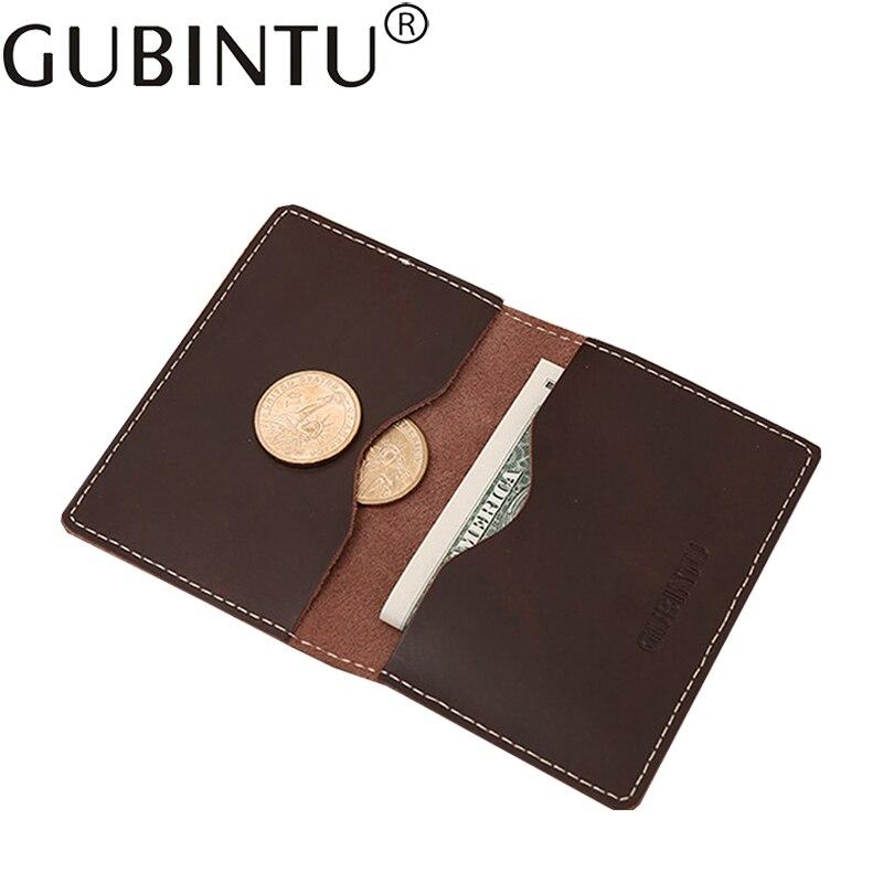 Slim Genuine Leather Thin Portomonee For Men Wallet Purse Male Cuzdan Bag With Money Walet Business Card Holder Klachi Vallet