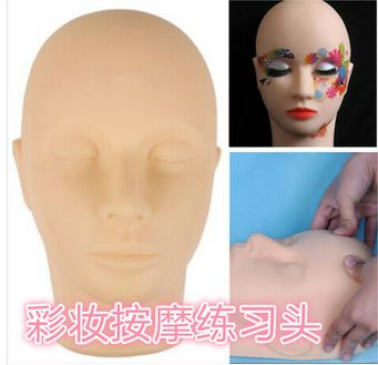 Super Quality Dummy Soft Mannequin Head For Makeup Massage Training Head