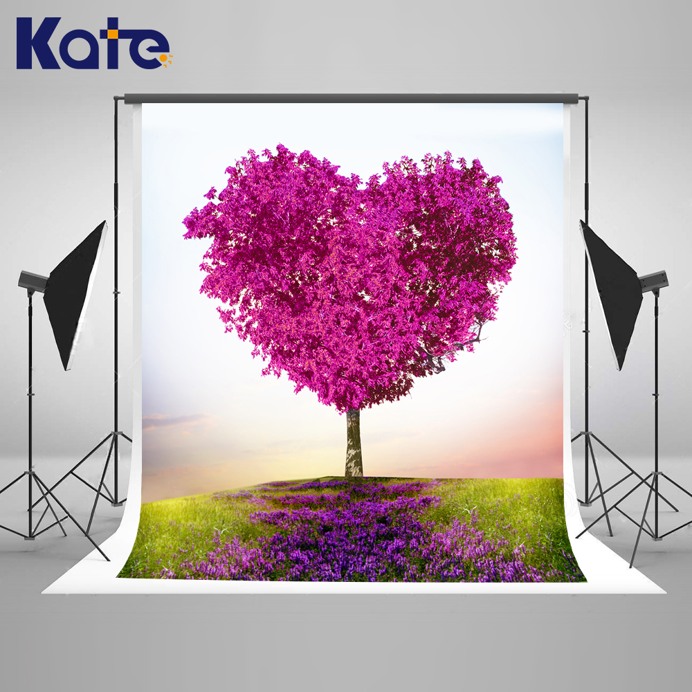 ФОТО 5x6.5FT Kate Scenic Photo Backdrops Flores Photo Studio Backdrop Spring Fairy Tale Forests Photocall Wedding