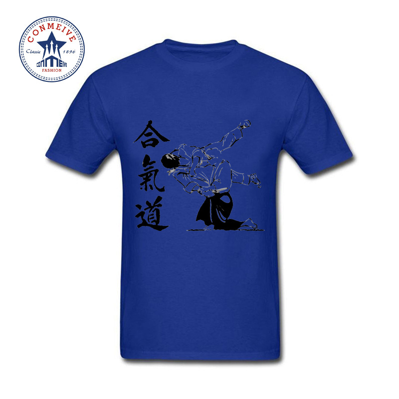 HTB1.UXoeBUSMeJjy1zjq6A0dXXaV - t shirt aikido 2017 Teenage Youth Funny Cotton for men