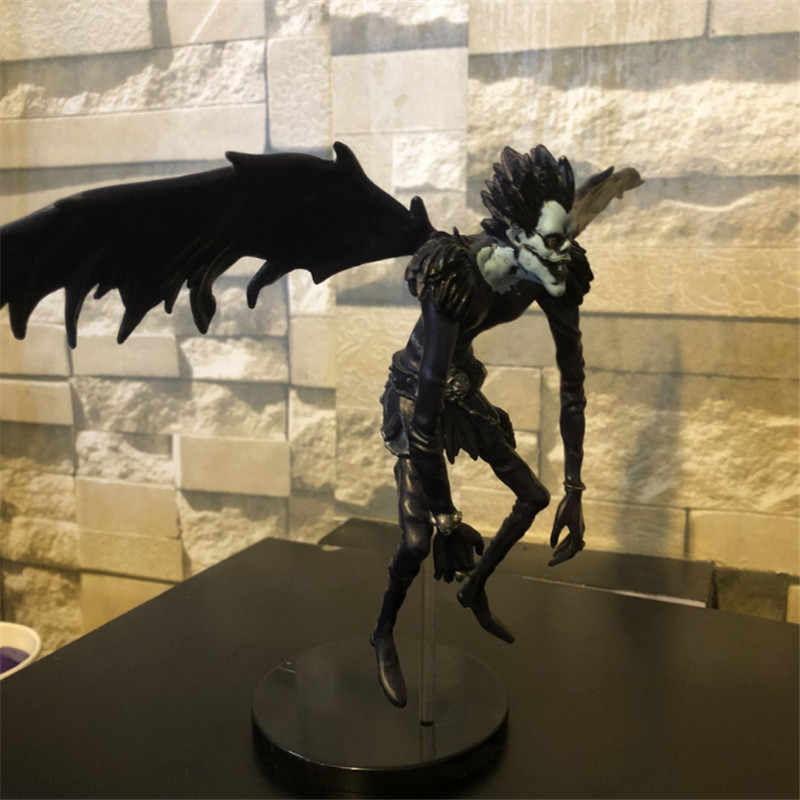 Death Note Rem L Ryuuku Ryuk Dark Blue PVC Action Figure Lyuuku Collectible Model Toy 24m