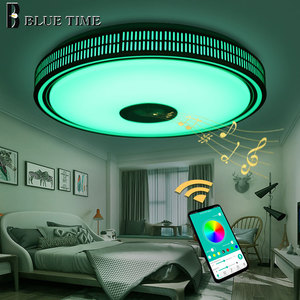 Image 5 - Lustres Modern LED Chandelier For Living room Bedroom Lampara techo Led Ceiling Chandeliers Lighting Bluetooth Control With Lamp