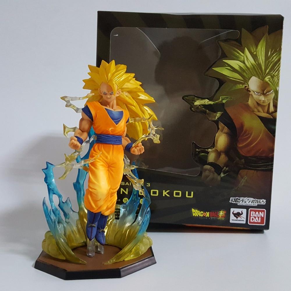 Dragon Ball Z Action Figuarts ZERO Son Goku Super Saiyan 3 Anime Dragon Ball Z Siffror 18cm DBZ Esferas Del Dragon Toy