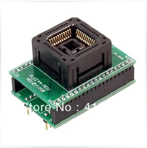 Подробнее о SmartPRO PLCC44, X5/X8 programming adapter ZY100B test socket adapter smartpro plcc44 x5 x8 programming adapter zy100b test socket adapter