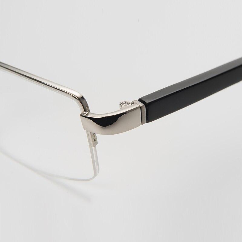 630d9caf39 Metal Optical Glasses Men Classical Square Computer Minus Bifocal  Prescription Blue Ray Eye Glasses  6018-in Prescription Glasses from  Apparel Accessories ...