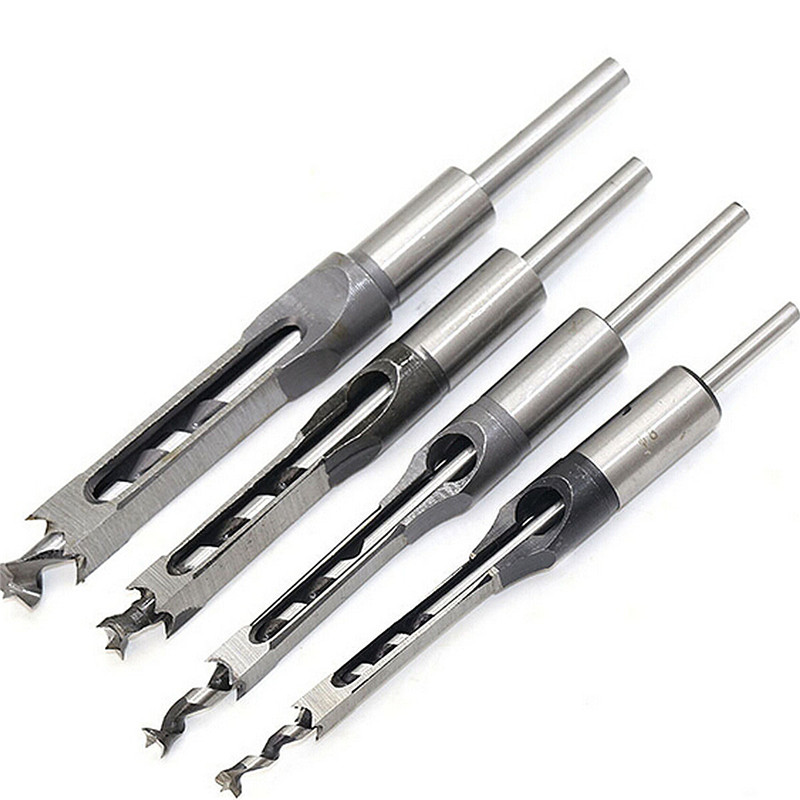 JAKEMY Hss Drill Bit Set woodworking drill bit 210mm 1/2' 3/8' 5/16' 1/4' Square hole cutter drill wood drill tool 5pcs step drill bit set hss cobalt multiple hole 50 sizes sae step drills 1 4 1 3 8 3 16 7 8 1 4 3 4 1 8 1 2 3 16 1 2 drill bits