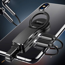 WIWU Mobile Phone Adapter for iPhone X Xs Max 8 8p 7 Dual Cable Lightning 3.5mm Audio Earphone Connector Converter