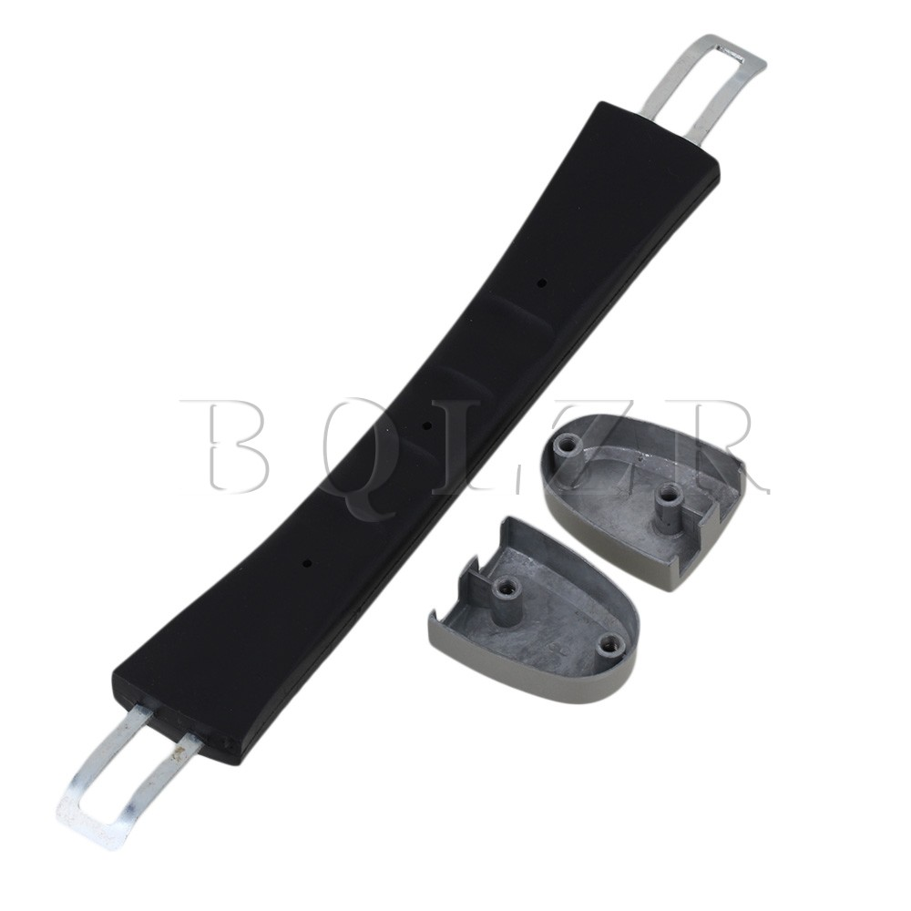 BQLZR 17cm Black Spare Strap Handle Grip Replacement for Suitcase Box Luggage