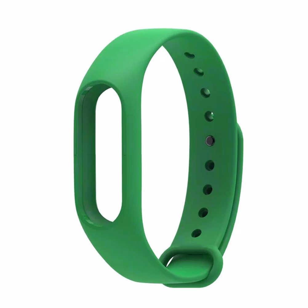 استبدال smartband حزام ساعة اليد سوار معصم من السيليكون ل شياو mi mi الفرقة 2 الذكية سوار صحي حزام (استيك) ساعة