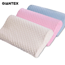GIANTEX Sleeping Bamboo Pillow Memory Foam Pillow Orthopedic Pillow Pillows Oreiller Pillow Almohada Cervical Kussens Poduszkap