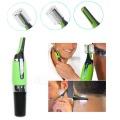 Y122-Nose Ear Face Personal Neck Eyebrow Hair Trimmer LED Lights Shaver Clipper Cleaner Health Care