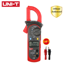 UNI-T UT201 Ditgital Clamp Meter Auto Range 400-600A Kaw Capacity 28mm Continuity Buzzer 2000 Counts Data hold Power off