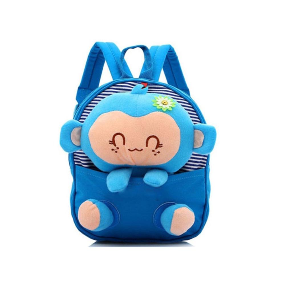 HUIMENG Bear Small School Backpacks Kids Baby School Bags Animal Monkey  Backpack For Girls Boys Kindergarten Nursery School Bag 73da27f77815d