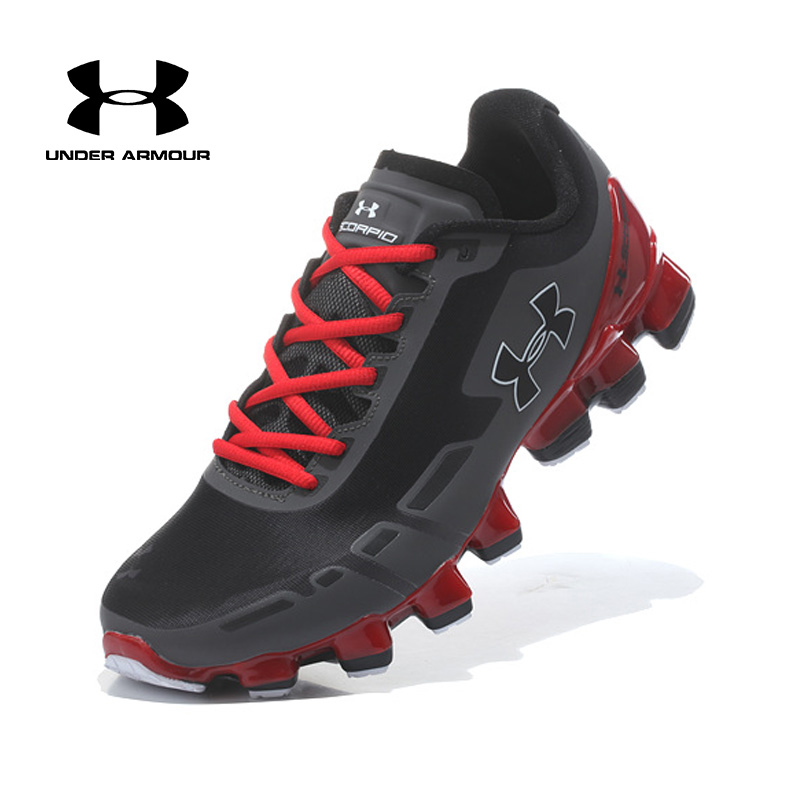 Under Armour UA Scorpio 2 Men Running Walking Shoes Outdoor Jogging Training Fitness Shoes Zapatillas Hombre Deportiva Hot sale fingerband under armour 1242653 ua braid mini