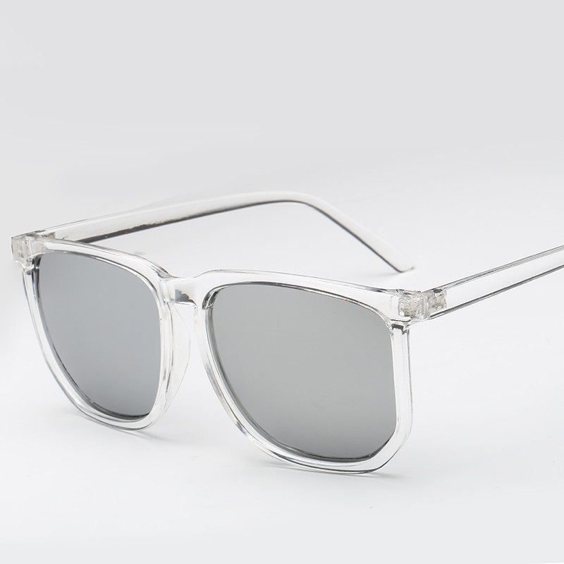 Vazrobe Miroir transparent lunettes de Soleil Hommes Femmes ultra-léger Lunettes de Soleil pour Homme flat top drving pêche pas cher nuances 2017