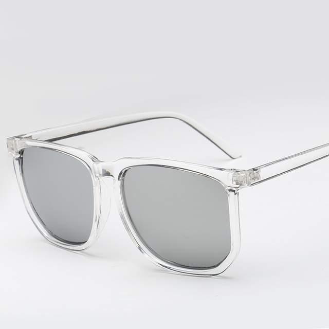 zapatos deportivos 9215e e5982 Vazrobe gafas de sol transparentes hombres mujeres marco transparente gafas  de sol para hombre novedad de moda para hombre hip hop cuadrado fresco ...