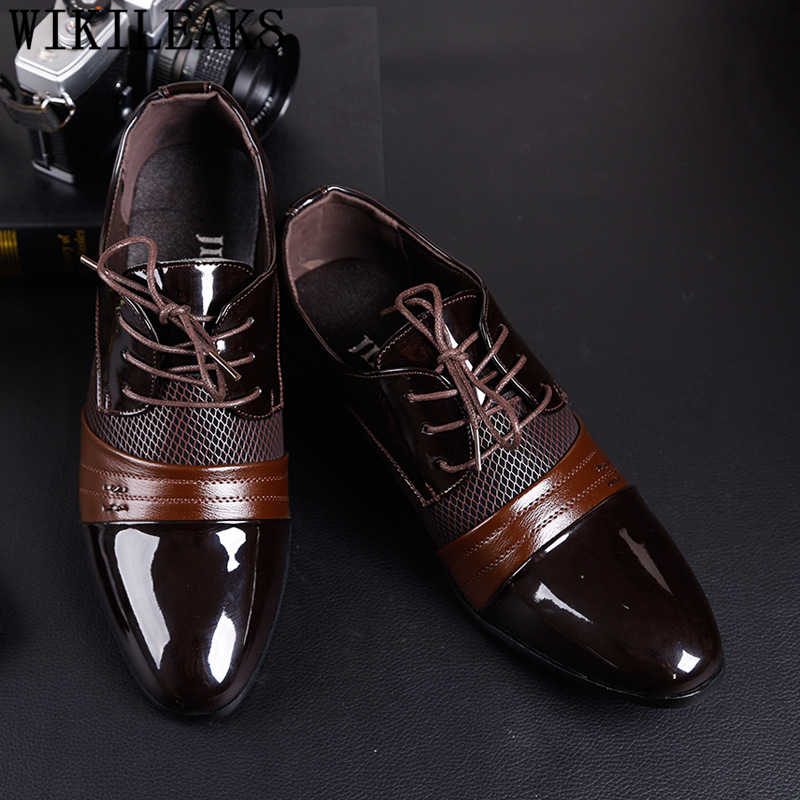 oxford shoes men elegant italian wedding shoes men for 2019 coiffeur brown dress formal shoes men classic brand big size zapatos