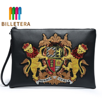 BILLETERA Clutch Bag Wrist Bag Pu Leather Clutch Bag Male Outdoor IPad Bag