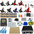 ITATOO Tattoo Kit Cheap Tattoo Machine Set a Pen Kit Tattooing Ink Machine Gun Supplies For Jewelry Weapon Professional TK100010