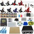 ITATOO Tatuagem Kit Máquina de Tatuagem Barato Definir uma Caneta Kit de Tatuagem Máquina de Tinta Suprimentos Arma Temperary TK100010 Arma Profissional