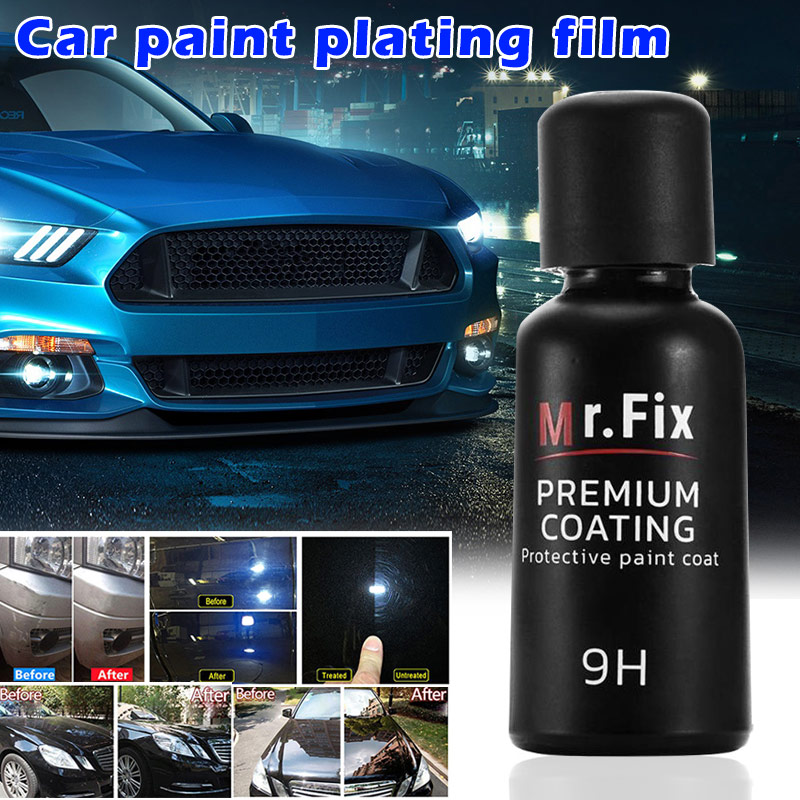 2019 9H Car Polish Liquid Ceramic Crystal Coat Set High Density Wax 50ml CSL88