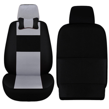 Car ynooh 2pcs car seat cover for volkswagen golf 4 3  polo 6r vw 9n passat b5 b6 b7 sedan accessories cover for vehicle seat недорого