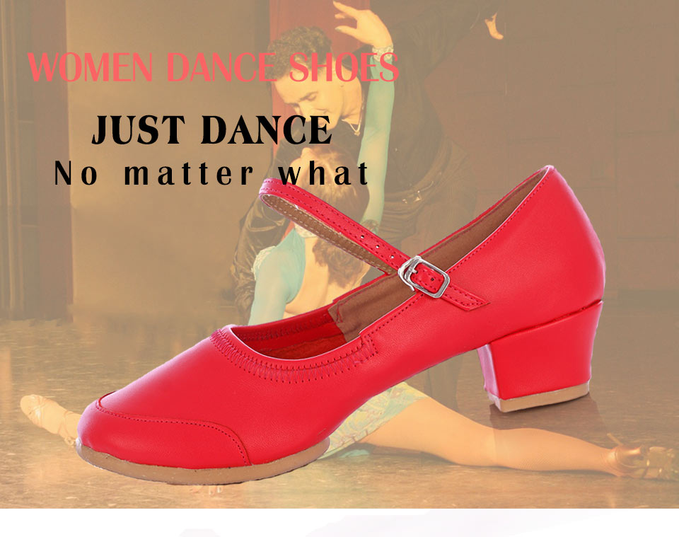 New Dance Shoes Women Soft Sole Ladies Modern Salsa Shoe Latin Practice Dancing Shoes For Woman Girls Jazz Square Dance Shoes
