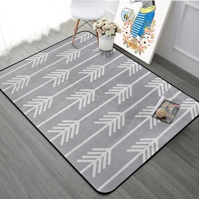 Thicking Geometrische Gedruckt Pfeile Boden Teppich Teppiche