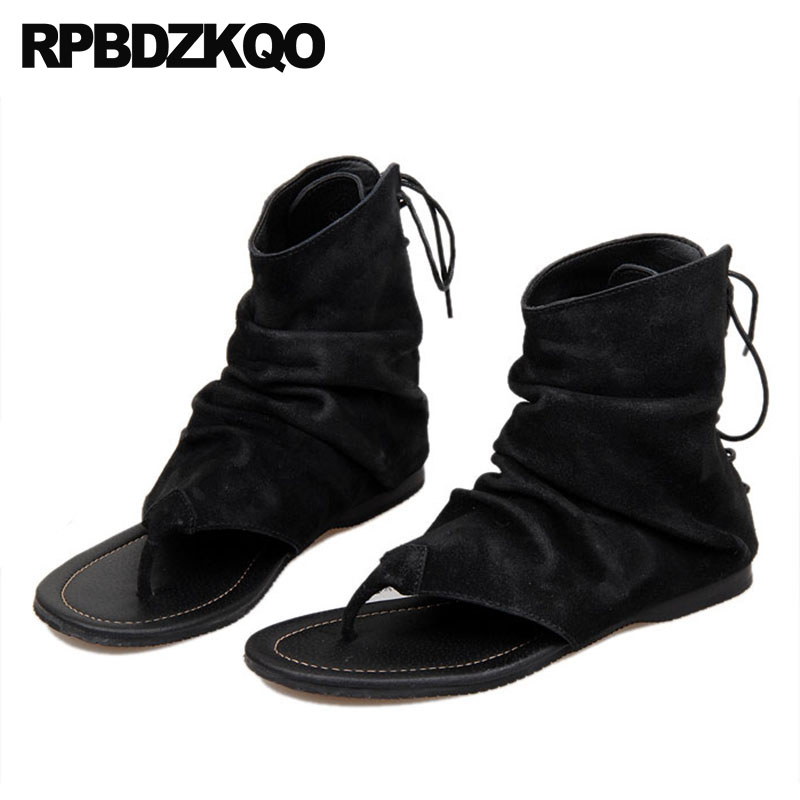 084eaca7b3c212 Flat Casual Strap Japanese Mens Sandals 2018 Summer Outdoor Shoes Famous  Brand Boots Open Toe Black Beach Designer Leather Men