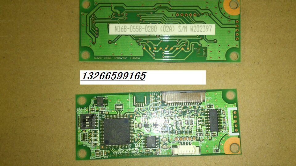 [SA] Fujitsu 7 line touch screen controller N16B-0558-0280 (02A) W202367 S/N --3pcs/lot [sa] fujitsu 7 line touch screen controller n16b 0558 0280 02a w202367 s n 3pcs lot