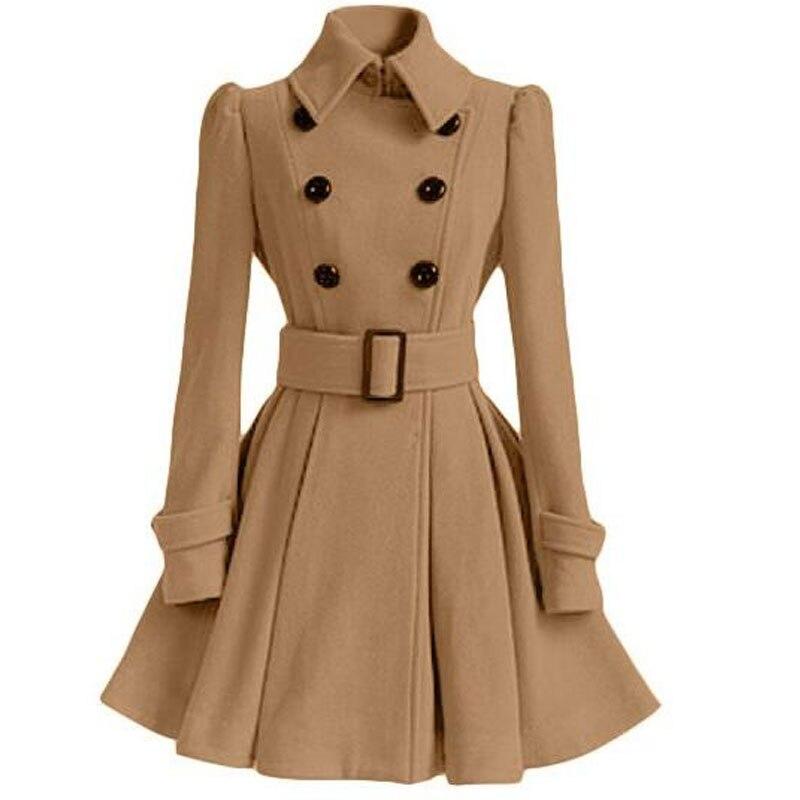 Girls Coat With Belt