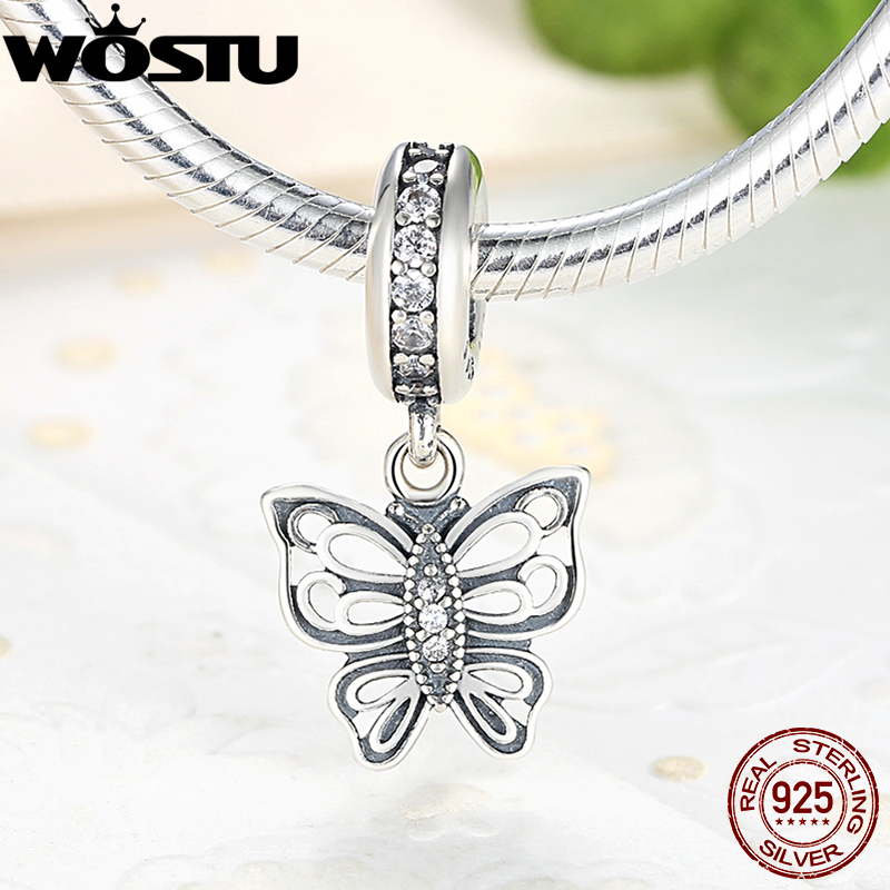c05e23dc7 925 Sterling Silver Love Takes Flight Butterfly Charm Beads CZ Fit Original  wst Bracelet Pendant Authentic Jewelry XCHS200 on Aliexpress.com | Alibaba  Group