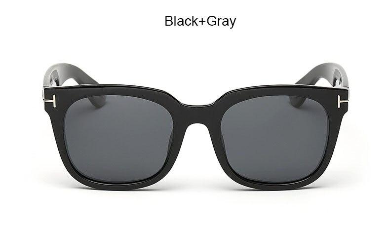 James Bond Sunglasses Men Brand Designer TR90 Polarized Sun Glasses Men's Super Star Square Celebrity Driving Sunglasses