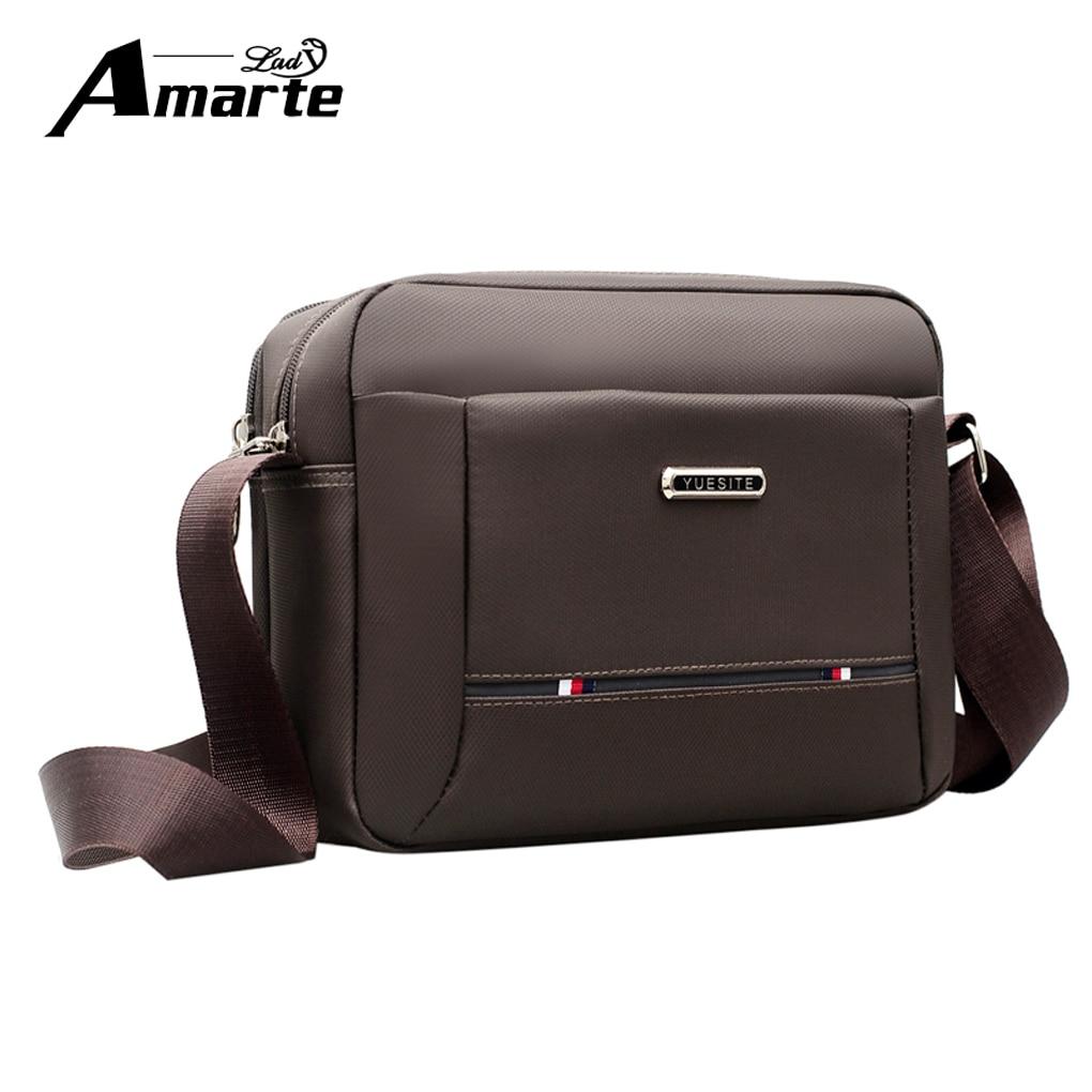 Aramte Men's Business Travel Canvas Shoulder Bag Men's Messenger Bag Canvas Bag Briefcase Men's Bag Free Shipping