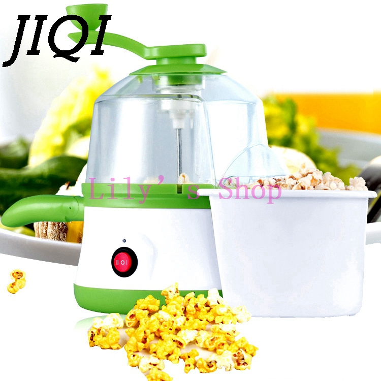 Multifunction MINI Electric popcorn machine Boiler Steamer fried Steamed eggs omelette frying Pan Corn Popper maker US EU plug flat pan rolled fried ice machine with double compressors