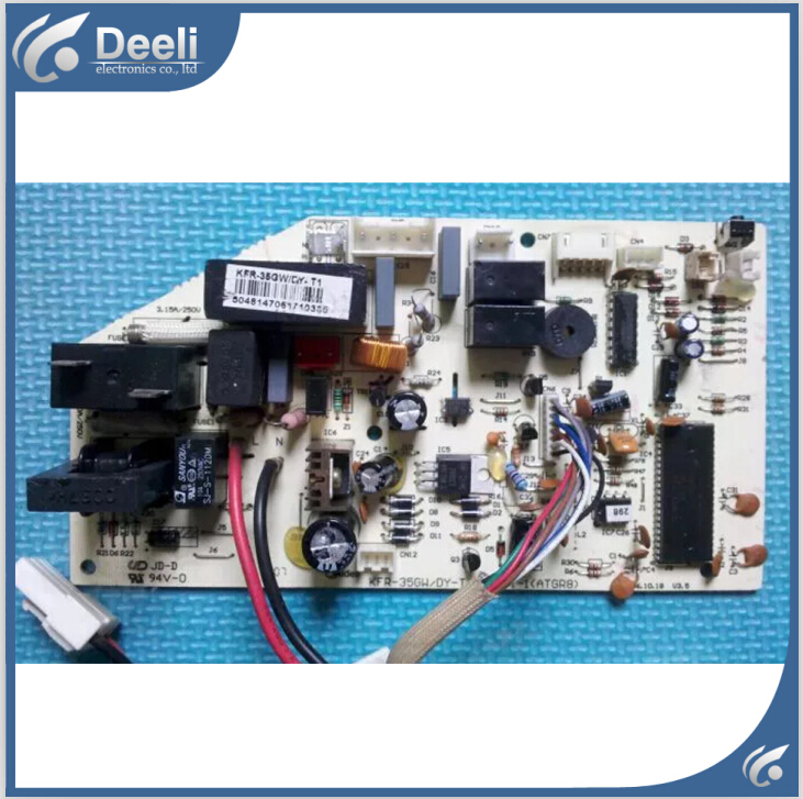 95% new good working for air conditioning accessories KFR-35GW/DY-T1 computer motherboard on sale indoor air conditioning parts mpu kfr 35gw dy t1 computer board kfr 35gw dy t used disassemble