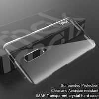 Pour OnePlus 7 Pro étui iMAK résistant à l'usure II Pro cristal coque de téléphone dur pour One Plus 7 Pro étui amortisseur + écran protecteur