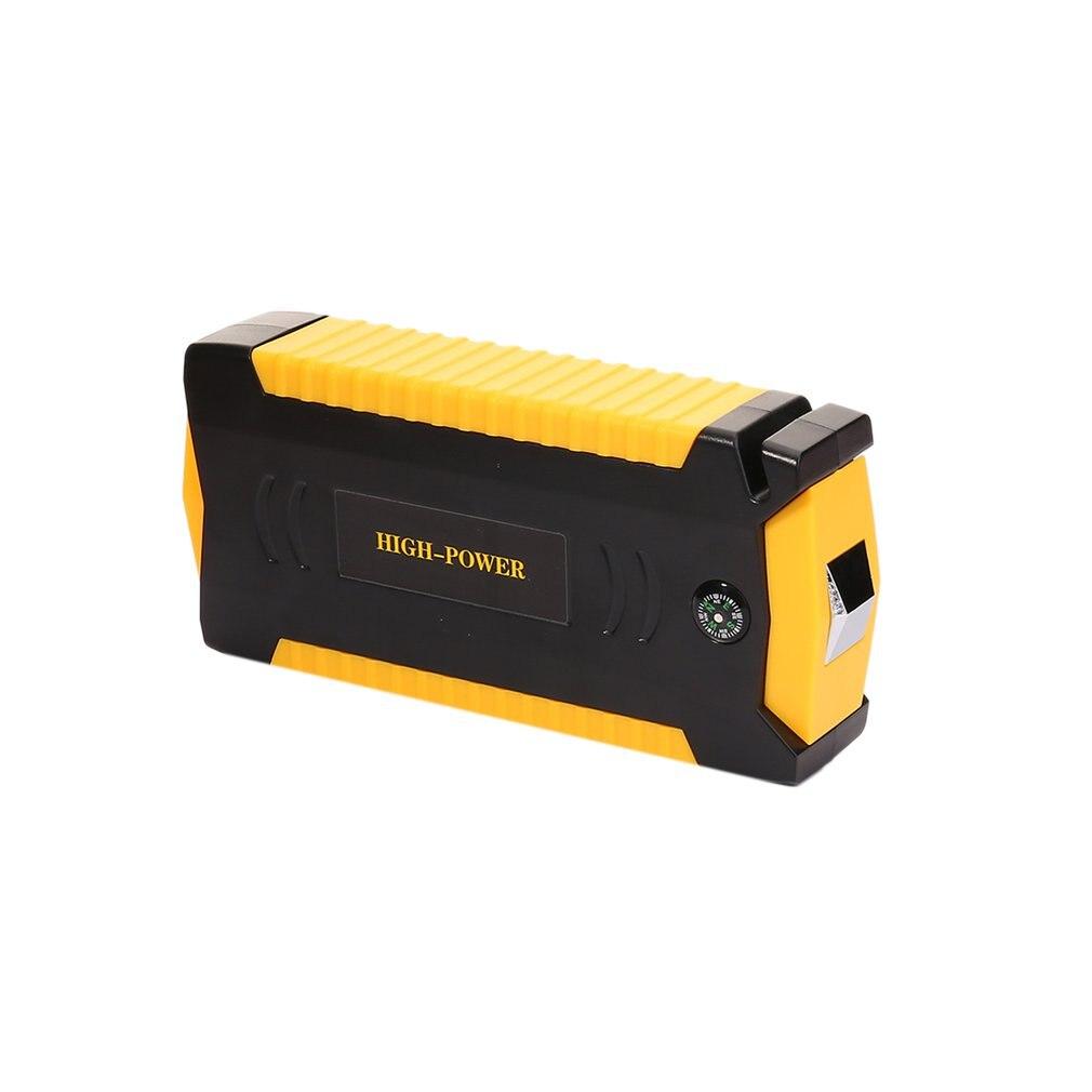 TM19B Mini démarreur de saut de voiture Portable dispositif de démarrage d'urgence 4 Ports USB alimentation Mobile pour chargeur de batterie de téléphone