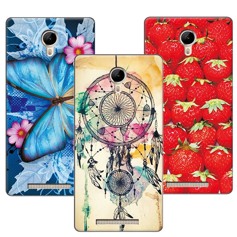 Women Girls Beautiful Floral Soft TPU Case For Micromax Q351 5.0 Colorful Flowers Skin Back Cover For Micromax Q 351 Q351