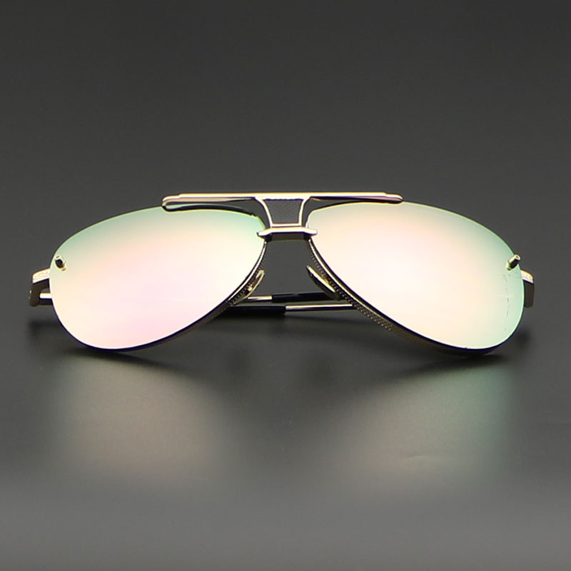Aviator Sunglasses Men women 2018 Luxury Brand Designer Vintage Ray Rimless Sunglases for male Oculos Aviador De Sol Masculino