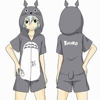 Anime Tonari No Totoro My Neighbor Totoro Cosplay Kostuum Kawaii Jumpsuits Unisex Jongen Meisjes Nachtkleding Homewear Hoodies