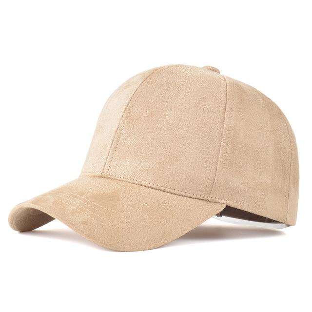 6e9207824def7 Gorras Snapback Suede Baseball Cap Mens Casquette Bone cap Fashion Polo Sportcap  Hip Hop Flat Hat For Women Black Dad Hats