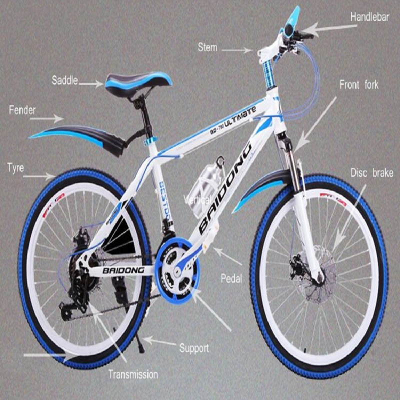 NORWICH 21 Speed Mountain Bike  20 Inch/22 Inch   Double Disc Brake Chain   Spring Fork Variable Speed Vehicle
