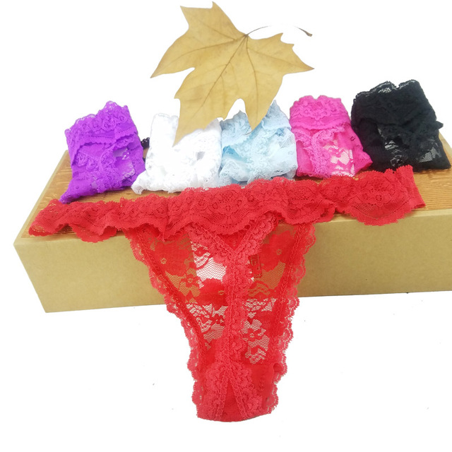 Women Lace Thong