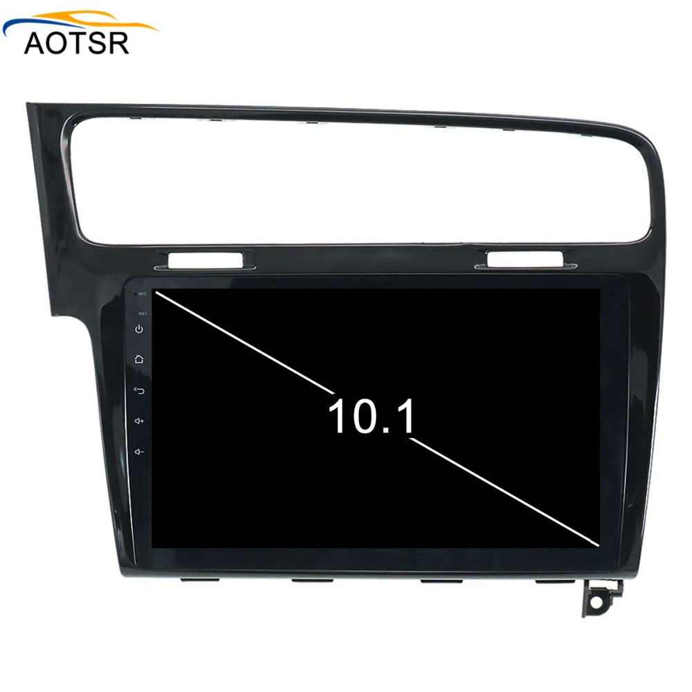 2 <font><b>din</b></font> <font><b>Android</b></font> <font><b>8.0</b></font> <font><b>Car</b></font> DVD GPS radio <font><b>stereo</b></font> player For Volkswagen VW GOLF 7 2013 2014 2015 2016 octa core 4+32GB BT wifi headunit image