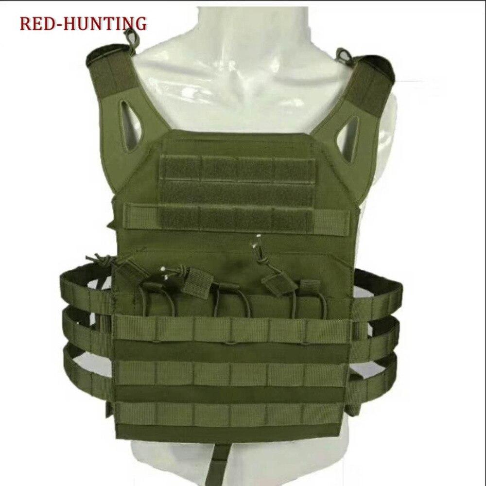 Nuevo tipo de chaleco táctico militar JPC para caza, Swat, Airsoft Molle, placa de asalto de combate, chaleco de transporte para hombres, ropa de ejército LYZ, tácticas SWAT, escudo, juguetes para juego de callos