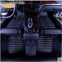 CHOWTOTO AA Custom Special Floor Mats For Mitsubishi Lancer EX Waterproof Carpets For Lancer EX Foot Carmat